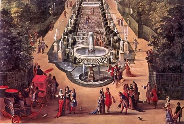 1682 Traslado de la corte francesa a Versalles