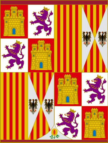 1476 Inicio del reinado de los Reyes Católicos unión de Castilla y Aragón