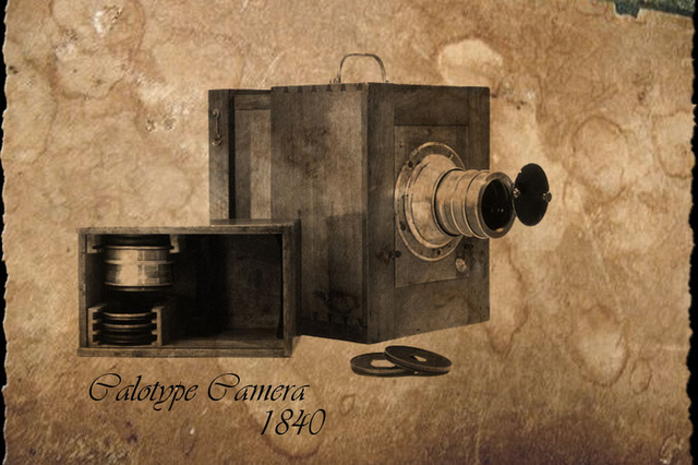 Talbot patents theCalotype