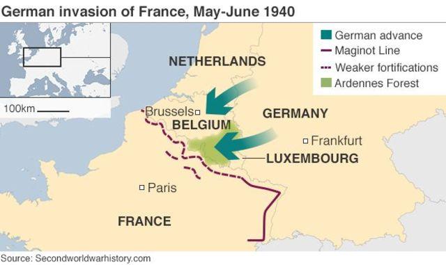 German Invasion of France (Europe)