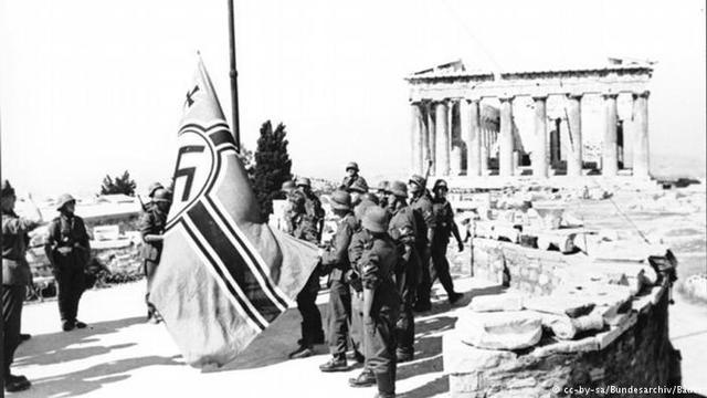 Germany takes Greece (Europe)