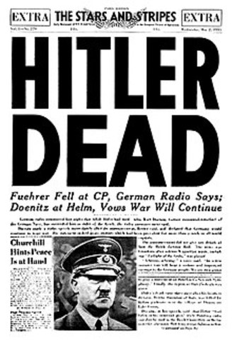Hitler's Suicide (Europe)
