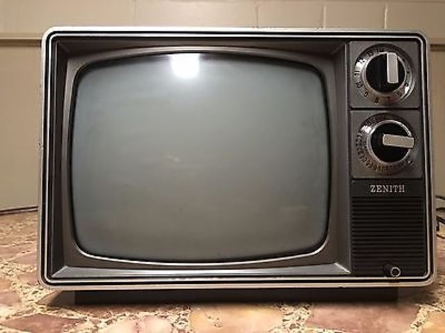 Zenith TV and Antenna