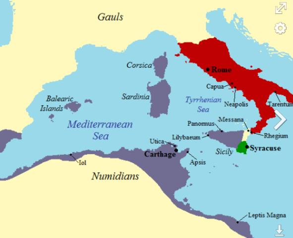 Rome/Carthage Treaty