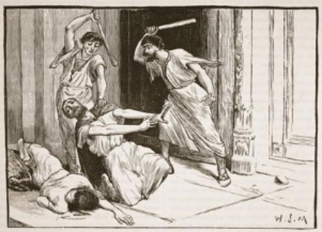 Tiberius Gracchus Killed