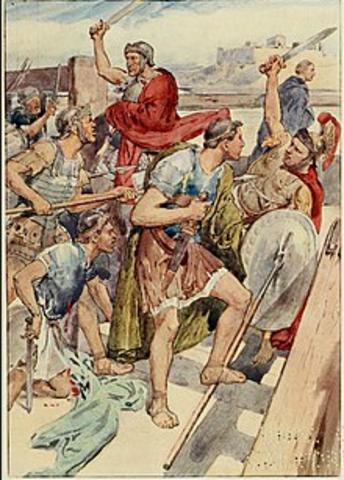 Gaius Gracchus Killed