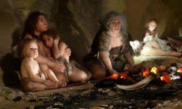 Los niños en la prehistoria