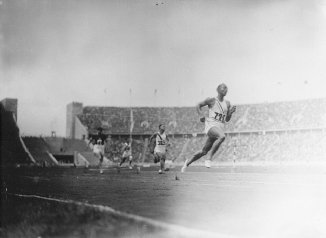 Jesse Owens Competes in Olympics