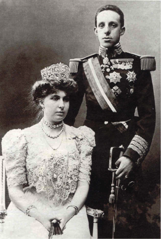 La boda de Alfonso XIII y el antendado contra Él