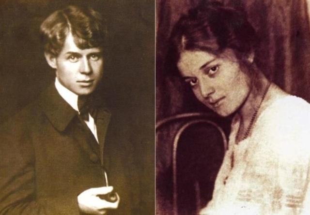 Роман с актрисой А. Миклашевской