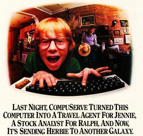 CompuServe Offers True Interaction