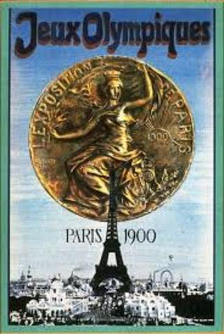 JUEGOS OLIMPICOS PARIS FRANCIA 1900