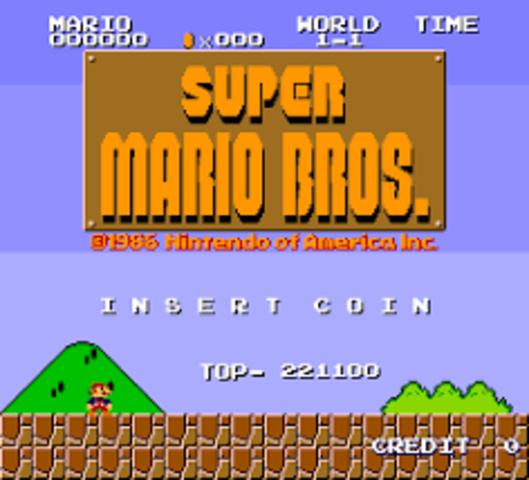 SUPER MARIO BROS (SEGUNDA APARICION DE MARIO)