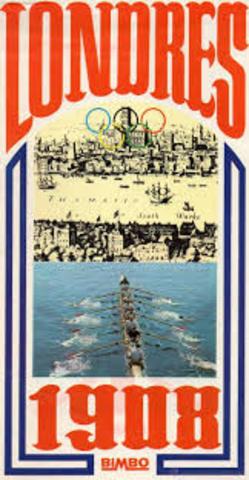 JUEGOS OLÍMPICOS DE LONDRES REINO UNIDO 1908