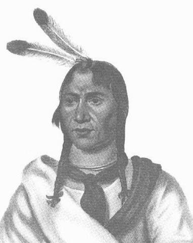 Chief Ish-Tak-Ha-Ba was born