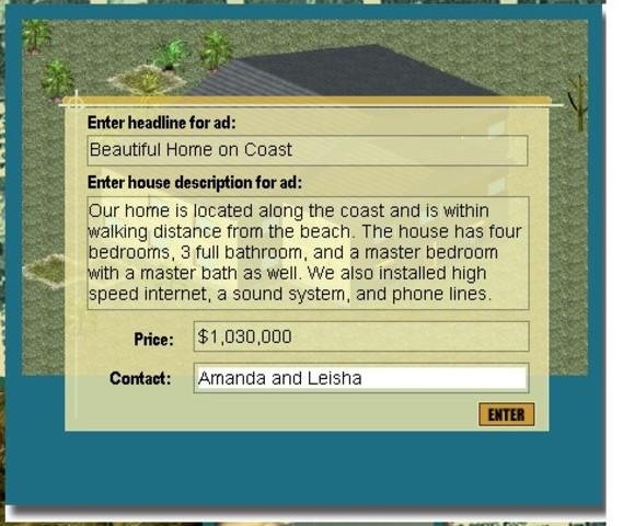 House Ad