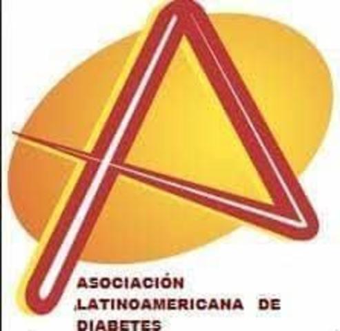 Se funda la Asociación Latinoamericana de Diabetes