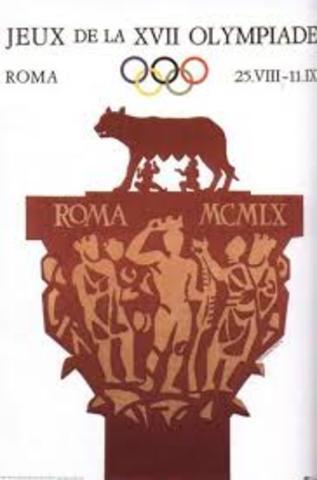 JUEGOS OLIMPICOS ROMA 1960