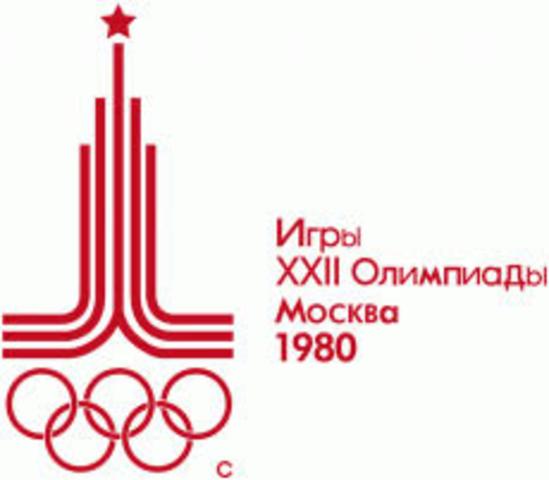 JUEGOS OLIMPICOS DE MOSCÚ 1980
