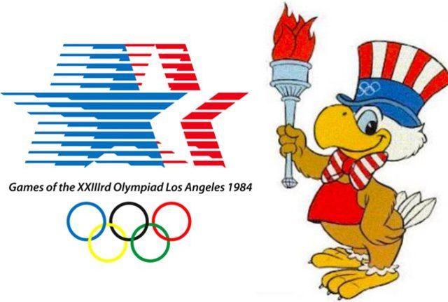 JUEGOS OLIMPICOS DE LOS ANGELES ESTADOS UNIDOS 1984