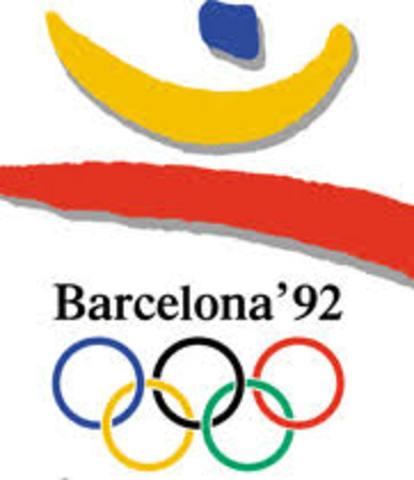 JUEGOS OLIMPICOS DE BARCELONA 1992