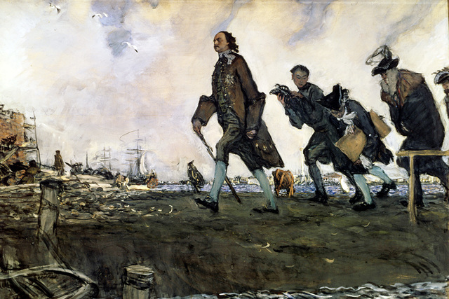 Peter the Great's Ascension To the Throne and Ruling