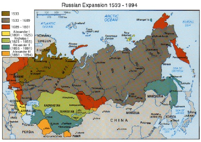 Russia's Expansion in Eurasia