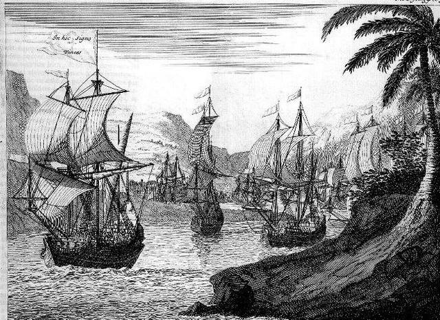 Primeras instalaciones portuarias
