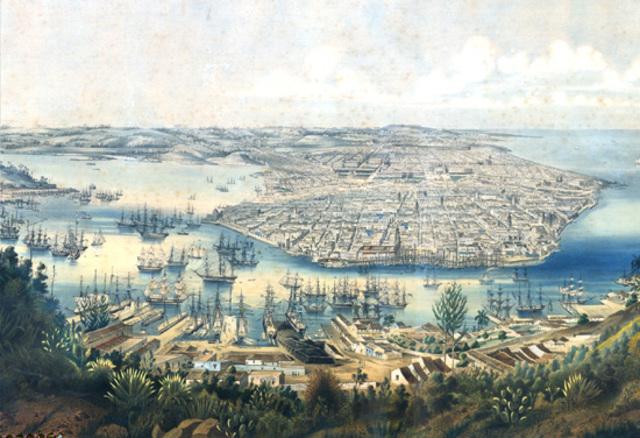 Se instituyó la ruta mercantil Acapulco