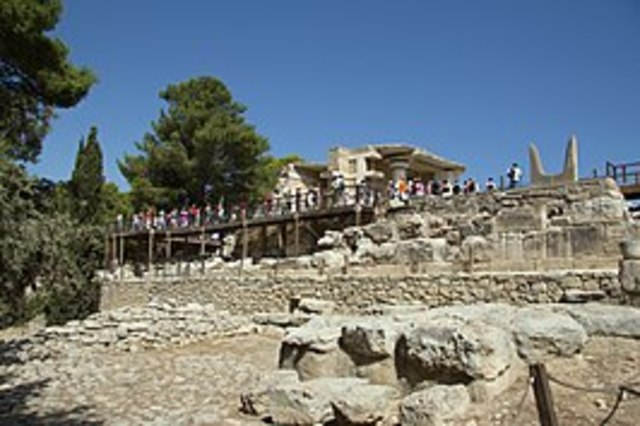 Paleis in Knossos