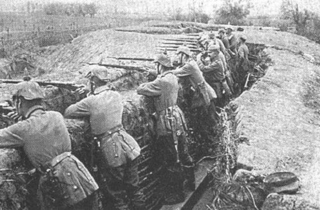 Guerra de Posiciones o Guerra de Trincheras