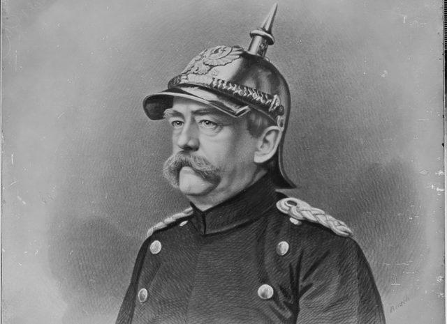 Bismarck deja la política.