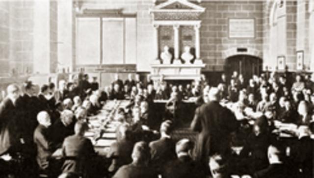La paz con Austria: el tratado de Saint-Germain.