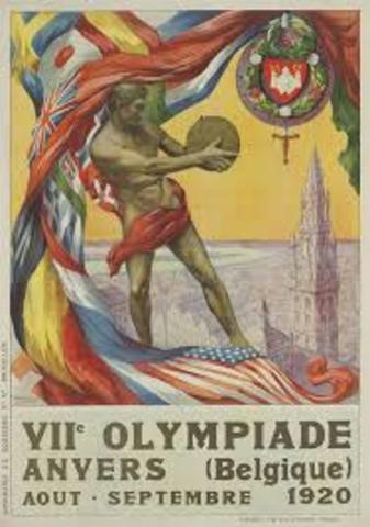 juegos olímpicos 1920