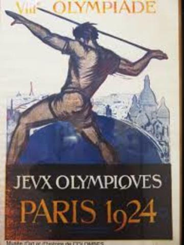 juegos olimpicos 1924