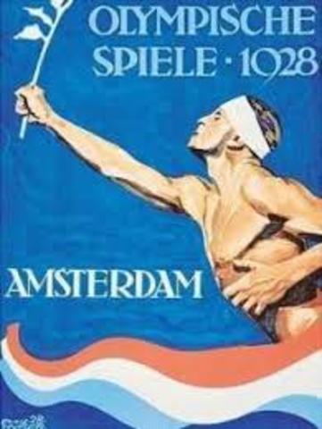 Juegos Olímpicos de Ámsterdam 1928.