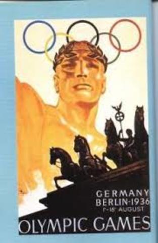 juegos olímpicos 1936