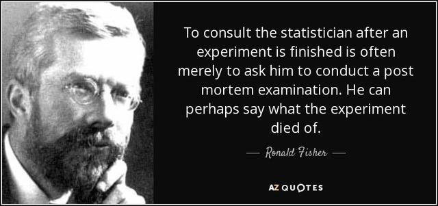 Fallecimiento de Ronald Fisher