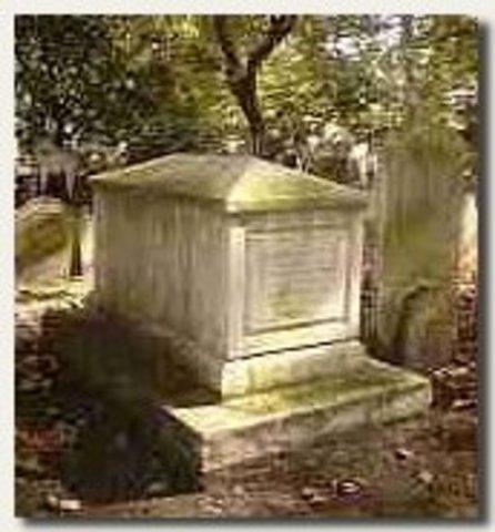 Fallecimiento de Bayes