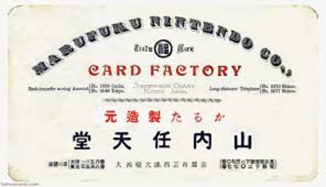 Nintendo 1933