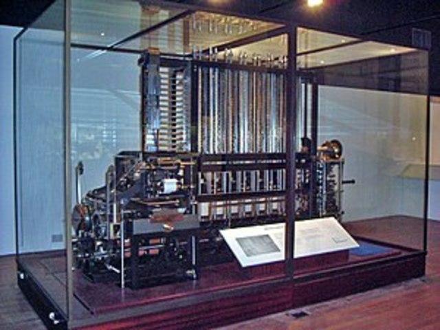 Maquina analítica y Maquina diferencial.