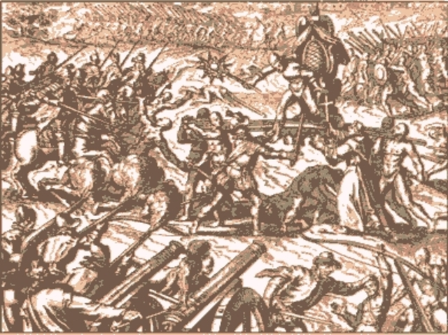 The Start of the Conquest of the Incan Empire