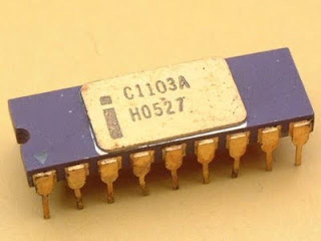 El primer chip de memoria