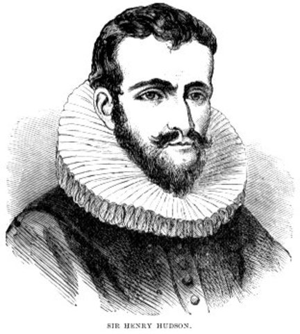Henry Hudson Sails from Europe