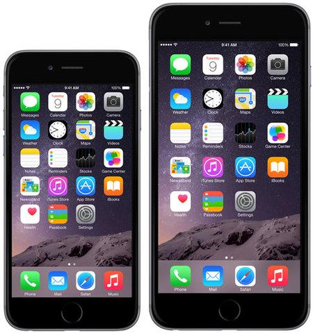 Lanzamiento del iPhone 6 y 6 plus