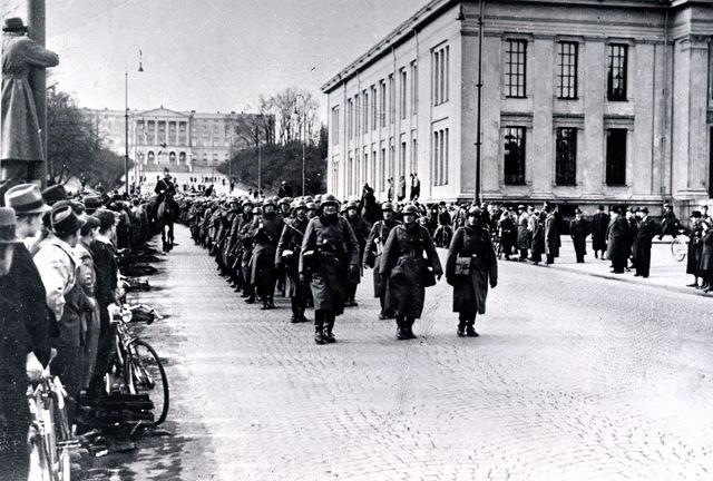 Tysk angrep på Norge og Danmark