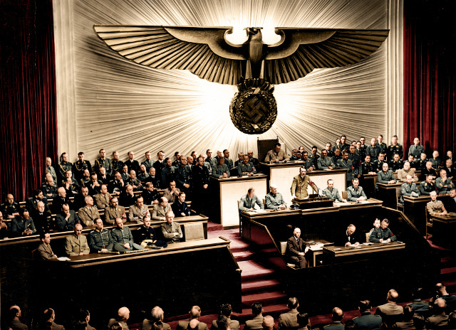 Tyskland erklærer krig mot USA