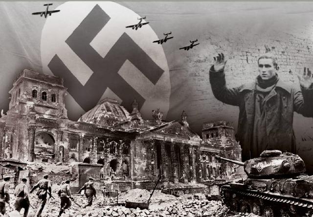 Krigen er over i Europa