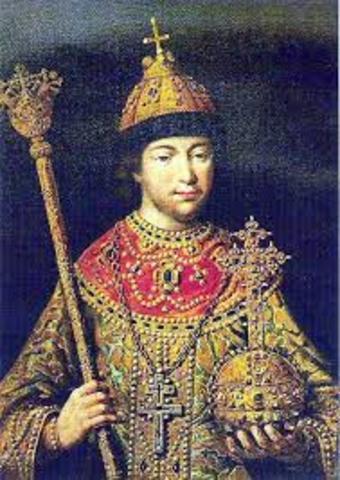 Начало правления Михаила Романова