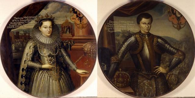 царская невеста в сопровождении польских солдат прибыла в Москву.